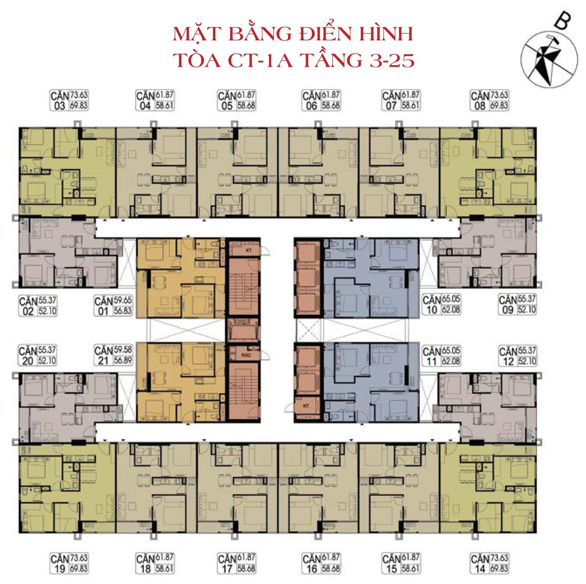 mat-bang-toa-ct1a-chung-cu-hateco-xuan-phuong