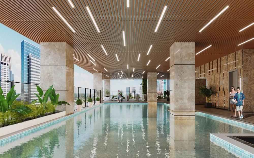 Bể bơi chung cư Bohemia Residence
