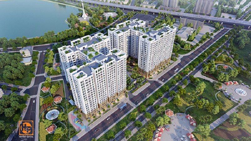 Phối cảnh chung cư Hà Nội Homeland