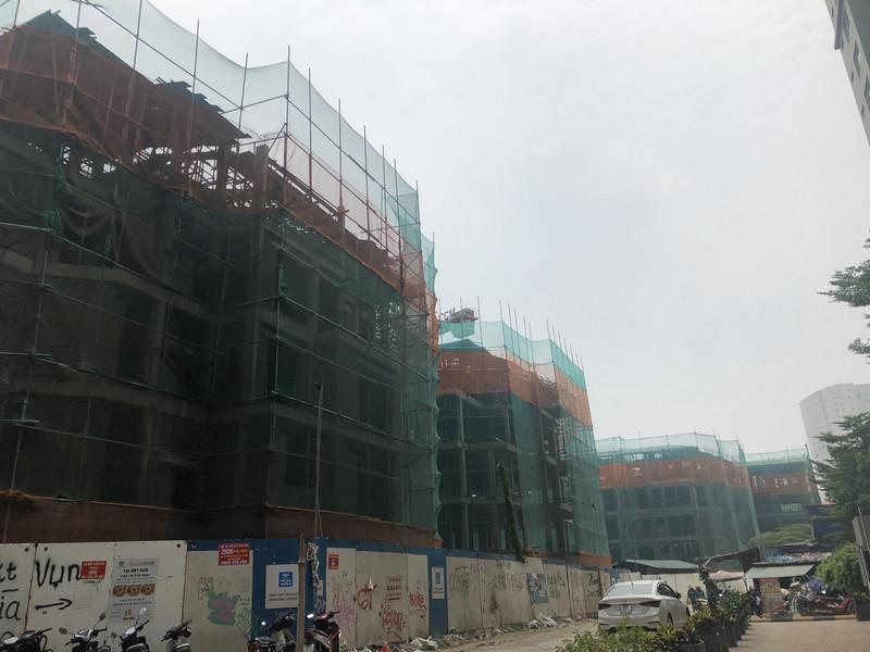 Tiến độ dự án liền kề Hoàng Thành Hà Đông