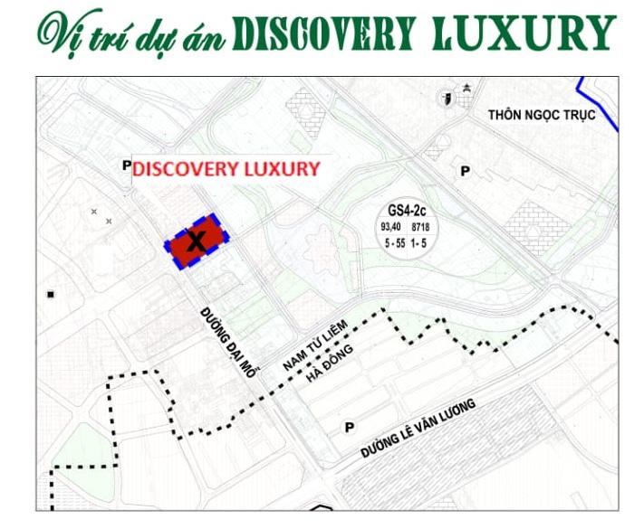 Vị trí dự án Discovery Đại Mỗ