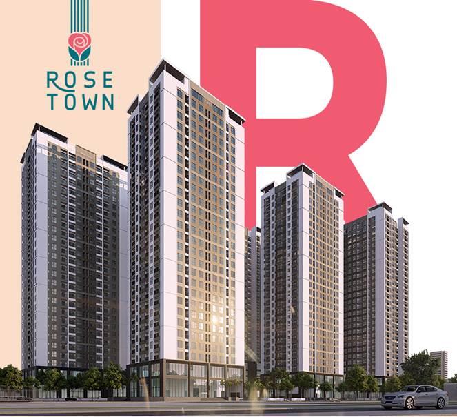 Phối cảnh chung cư Rose Town