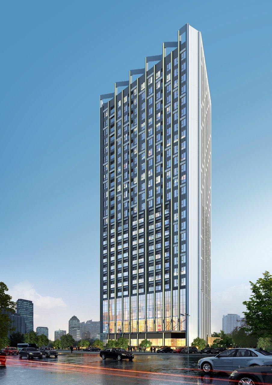 Phối cảnh dự án Trinity Tower